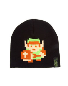 THE LEGEND OF ZELDA BONNET 8-BIT LINK PIXEL FIGURE