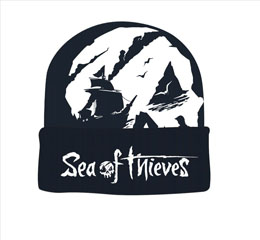 SEA OF THIEVES BONNET SKULL LOGO