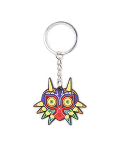 PORTE-CLE THE LEGEND OF ZELDA EN CAOUTCHOUC MAJORA'S MASK