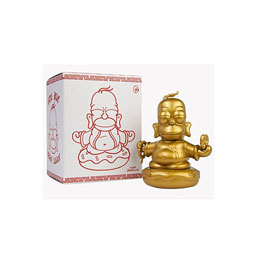 FIGURINE SIMPSONS GOLDEN BUDDHA HOMER 8 CM