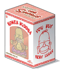 Photo du produit FIGURINE SIMPSONS HOMER BUDDHA 8 CM Photo 1