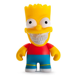 FIGURINE SIMPSONS BART GRIN BY RON ENGLISH