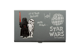 STAR WARS ETUI À CARTES DE VISITE DARTH VADER & STORMTROOPER