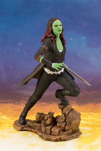 Photo du produit AVENGERS INFINITY WAR STATUETTE PVC ARTFX+ 1/10 GAMORA 22 CM Photo 1
