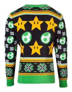 Photo du produit NINTENDO SWEATER CHRISTMAS SUPER MARIO YOSHI Photo 1