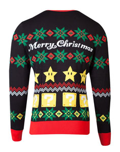Photo du produit NINTENDO SWEATER CHRISTMAS SUPER MARIO NIGHT Photo 1