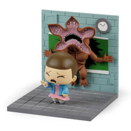 Photo du produit STRANGER THINGS DIORAMA ELEVEN VS DEMOGORGON LC EXCLUSIVE Photo 1
