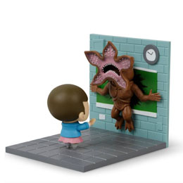 Photo du produit STRANGER THINGS DIORAMA ELEVEN VS DEMOGORGON LC EXCLUSIVE Photo 2