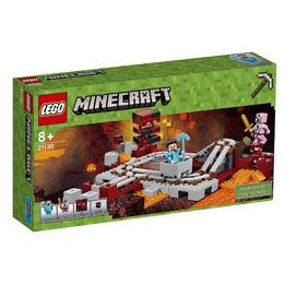 LEGO MINECRAFT LES RAILS DU NETHER