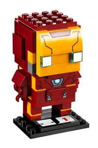 LEGO BRICKHEADZ CAPTAIN AMERICA CIVIL WAR IRON MAN