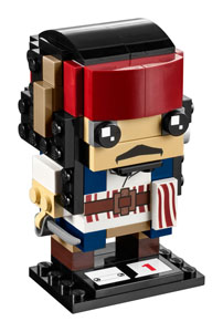 LEGO BRICKHEADZ PIRATES DES CARAIBES LA VENGEANCE DE SALAZAR CAPTAIN JACK SPARROW