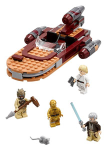 LEGO STAR WARS EPISODE IV LUKE'S LANDSPEEDER