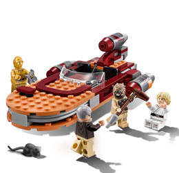 Photo du produit LEGO STAR WARS EPISODE IV LUKE'S LANDSPEEDER Photo 4