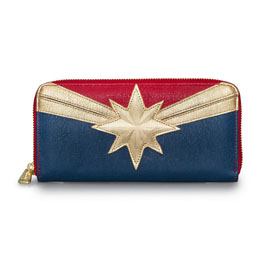 MARVEL BY LOUNGEFLY PORTE-MONNAIE CAPTAIN MARVEL