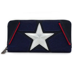 MARVEL BY LOUNGEFLY PORTE-MONNAIE CAPTAIN AMERICA