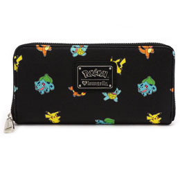 Photo du produit POKEMON BY LOUNGEFLY PORTE-MONNAIE POKÉMON STARTERS