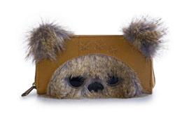 Photo du produit STAR WARS BY LOUNGEFLY PORTE-MONNAIE 3D EWOK & EARS