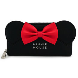 DISNEY BY LOUNGEFLY PORTE-MONNAIE MINNIE (EARS & BOW)