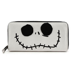 DISNEY BY LOUNGEFLY PORTE-MONNAIE JACK BIG FACE (L´ÉTRANGE NOËL DE MR. JACK)