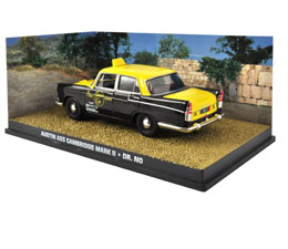 JAMES BOND DR. NO 1/43 AUSTIN A55 CAMBRIDGE MARK II METAL