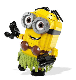 MOI, MOCHE ET MECHANT 3 JEU DE CONSTRUCTION MEGA CONSTRUX BUILD-A-MINION HULA DAVE