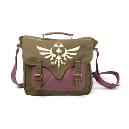 SAC BANDOULIERE THE LEGEND OF ZELDA GOLDEN TRIFORCE