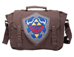 LEGEND OF ZELDA SAC A BANDOULIERE PORTABLE HYLIAN SHIELD