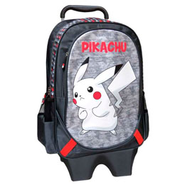 TROLLEY PIKACHU POKEMON 43CM EXTRACTIBLE