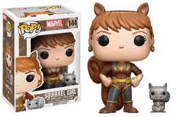 MARVEL COMICS FUNKO POP SQUIRREL GIRL
