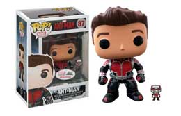 FUNKO POP! MARVEL ANT-MAN UNMASKED + MINI LIMITED
