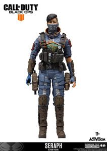 CALL OF DUTY FIGURINE SERAPH INCL. DLC 15 CM