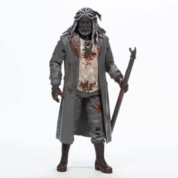 THE WALKING DEAD FIGURINE EZEKIEL (BLOODY B&W) 15 CM