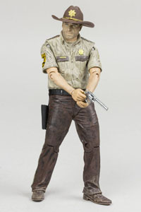 THE WALKING DEAD TV VERSION FIGURINE RICK GRIMES 13 CM SÉRIE 7