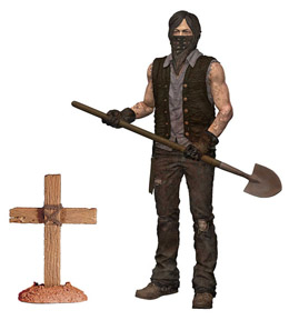 FIGURINE THE WALKING DEAD TV VERSION SERIE 9 GRAVE DIGGER DARYL DIXON DIRT VER.