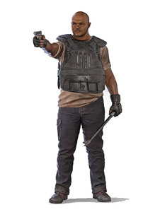 FIGURINE THE WALKING DEAD TV VERSION SERIE 9 T-DOG