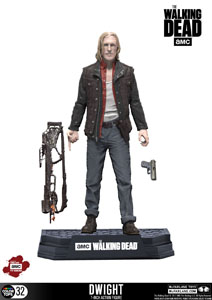 THE WALKING DEAD TV VERSION FIGURINE COLOR TOPS DWIGHT 18 CM