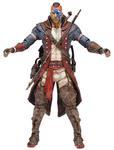 FIGURINE ASSASSIN'S CREED UNITY SERIE 8 ACTION CONNOR