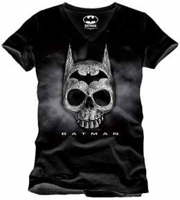 BATMAN T-SHIRT DEATH HEAD