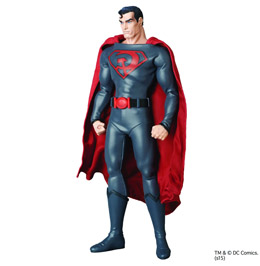 DC COMICS FIGURINE RAH 1/6 SUPERMAN (SUPERMAN: RED SON) PREVIEWS EXCLUSIVE
