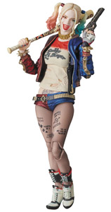 SUICIDE SQUAD FIGURINE MAF EX HARLEY QUINN PREVIEWS EXCLUSIVE 15 CM
