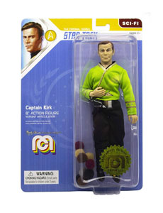 STAR TREK TOS FIGURINE CAPTAIN KIRK (THE TROUBLE WITH TRIBBLES) 20 CM