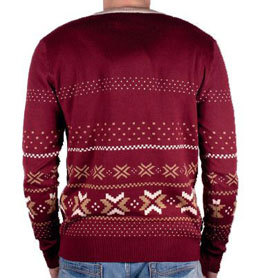 Photo du produit HARRY POTTER SWEATER CHRISTMAS PLATFORM 9 3/4 Photo 1