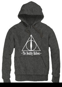 HARRY POTTER SWEATER A CAPUCHE THE DEATHLY HALLOWS