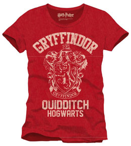 T-SHIRT HARRY POTTER GRYFFINDOR QUIDDITCH