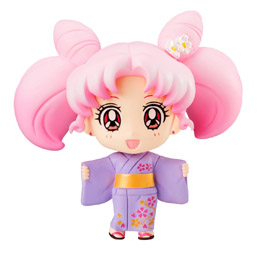 SAILOR MOON PETIT CHARA PRETTY SOLDIER FIGURINE CHIBI USAGI YUKATA
