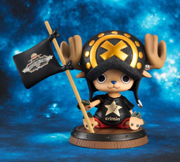 STATUETTE ONE PIECE 1/8 P.O.P. SAILING AGAIN TONY TONY CHOPPER CRIMIN VERSION. SHIBUYA EDITION