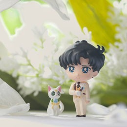Photo du produit SAILOR MOON PETIT CHARA SET 4 MINI FIGURES HAPPY WEDDING 6 CM Photo 2