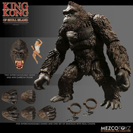 Photo du produit KING KONG FIGURINE KING KONG OF SKULL ISLAND 18 CM Photo 1