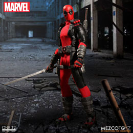 MARVEL UNIVERSE FIGURINE 1/12 DEADPOOL 17 CM
