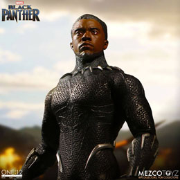 Photo du produit MARVEL UNIVERSE FIGURINE 1/12 BLACK PANTHER 17 CM Photo 1
